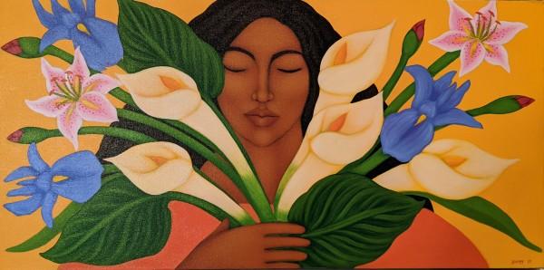The Flower Seller by Tamara Adams