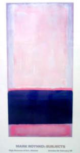 Mark Rothko poster