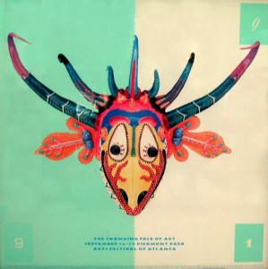 Arts Festival of Atl. (mask poster)