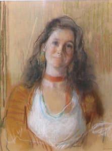 Gillian in White Blouse