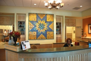 Clay quilt and clay panels