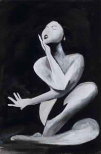 Dancer in Repose - Print #16 of 25