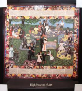 High Museum of Art Poster (Faith Ringgold)