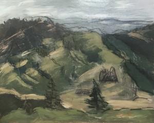 72- View West - Mt Ashland