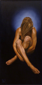 Nude Sitting #3