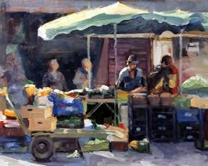 Morning at the Market