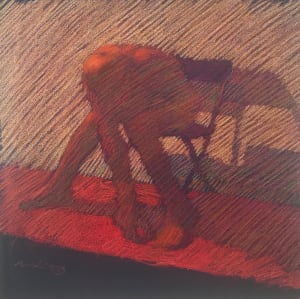 Folded Man on Folded Chair