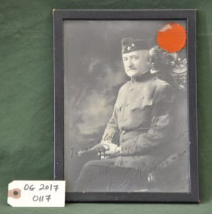 Signed Photograph of a Major General