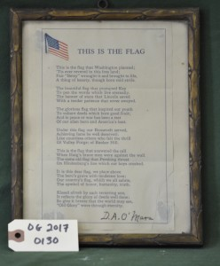 """This is the Flag"", Poem"