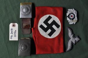 Assorted Nazi Uniform Items