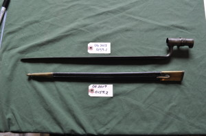 Bayonet With Scabbard