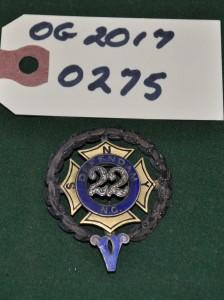 22nd Regiment Pin