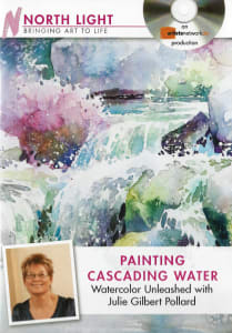 Watercolor Unleashed - Paint Cascading Water