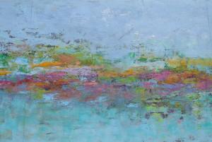 Monet Reflection 3, 20x34