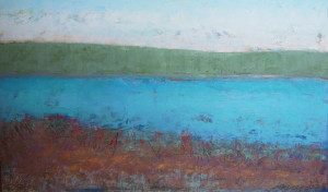 """Tranquil Shores, 22x36"""""""