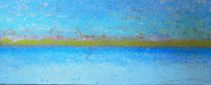 The space between, 24x60""