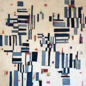 Puzzled-Indigo  Large