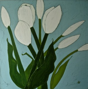 White Tulips on Sunday