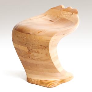 漂流木椅子