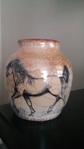 Modern Raku Horse