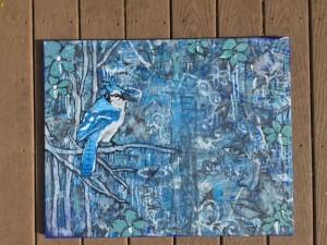 blue. (Blue Jay)