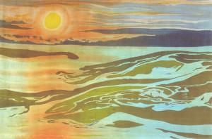 Daybreak (framed)
