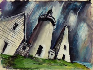 无标题#4253,基于Cape Neddick Lighthouse的图片