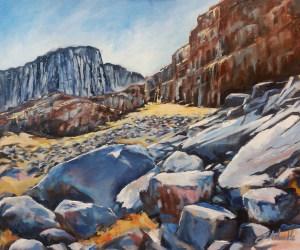 Many Rocks, Glencoe