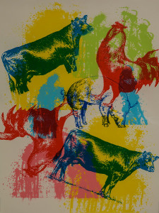 Untitled (Cows and Farm Animals)