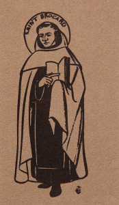 Untitled (Holy Cards--Saint Brocard)