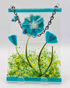 Garden Hanger-Blue Poppy