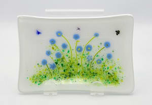 Soap Dish/Spoon Rest-Forget Me Nots