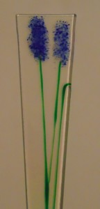 Plant Stake-Blue Delphiniums