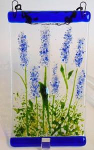 Garden Hanger-Blue Delphiniums