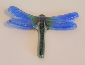 Dragonfly-Small Blue/Green Wings