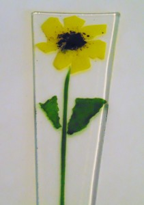 Plant Stake-Yellow Flower