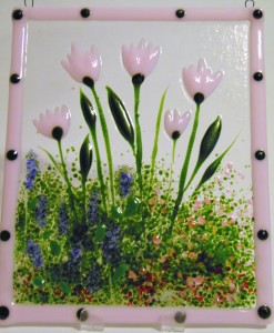 花园衣架 - 粉红色郁金香