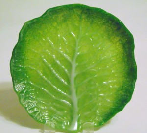 Cabbage Leaf Plate