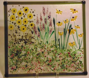 Garden Hanger-Sunflowers, Lavender, Cone Flowers