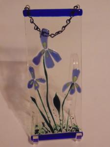 Garden Hanger-Three Irises