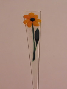 Plant Stake: Yellow Daisy