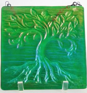 Tree of Life, Small-Kelly Green Irid