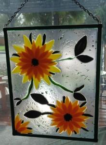 Garden Hanger-Large Sunflowers