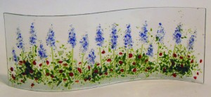 Garden Stand-Up: Delphiniums & Poppies
