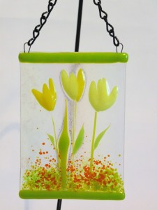 Garden Hanger-Yellow Tulips