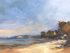 A Sunny Day in May on Studland Beach
