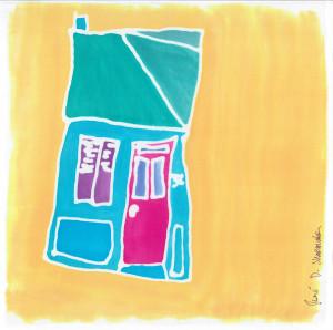 #36 rue de Beaumont. Felletin.  (jaune)