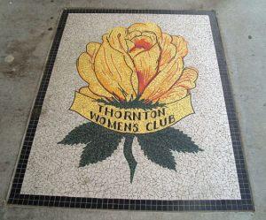 Thornton Womens Club Yellow Rose