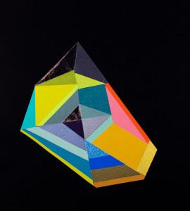 Black Color Crystal #3