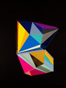 Black Color Crystal #5